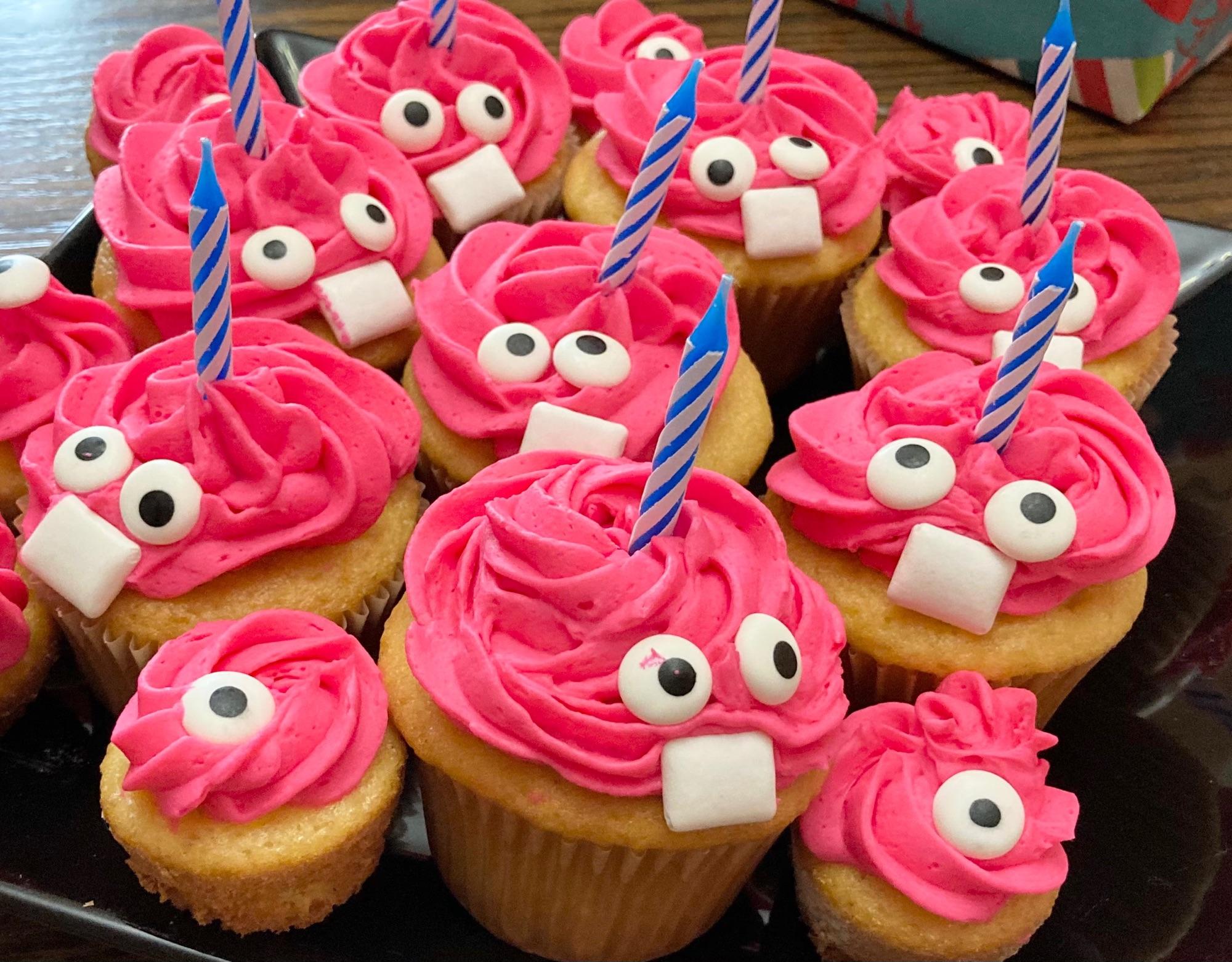 Carl cupcakes