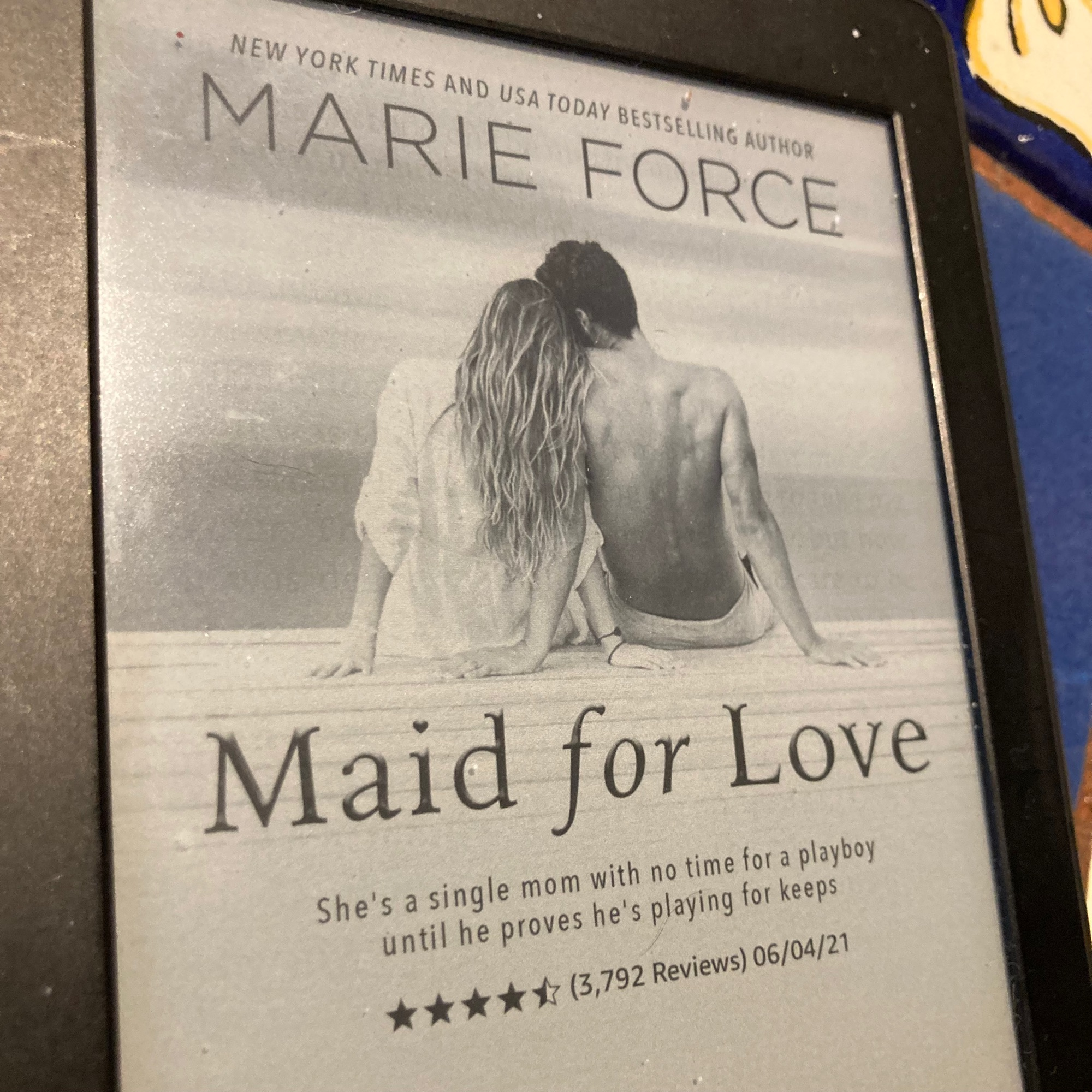 Not my next read. Sorry Marie.