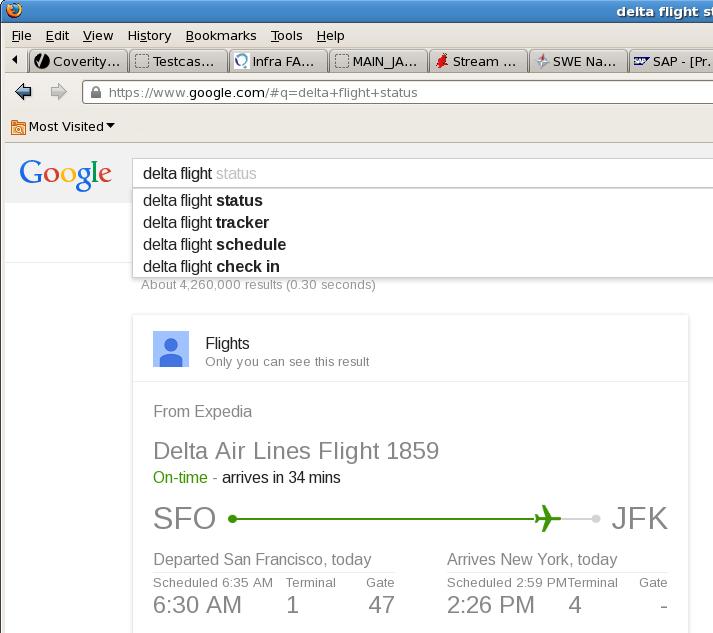 delta flight status
