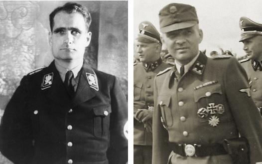 Нацистские преступники Рудольф Гесс и Рудольф Гёсс. Путаница в российских СМИ.