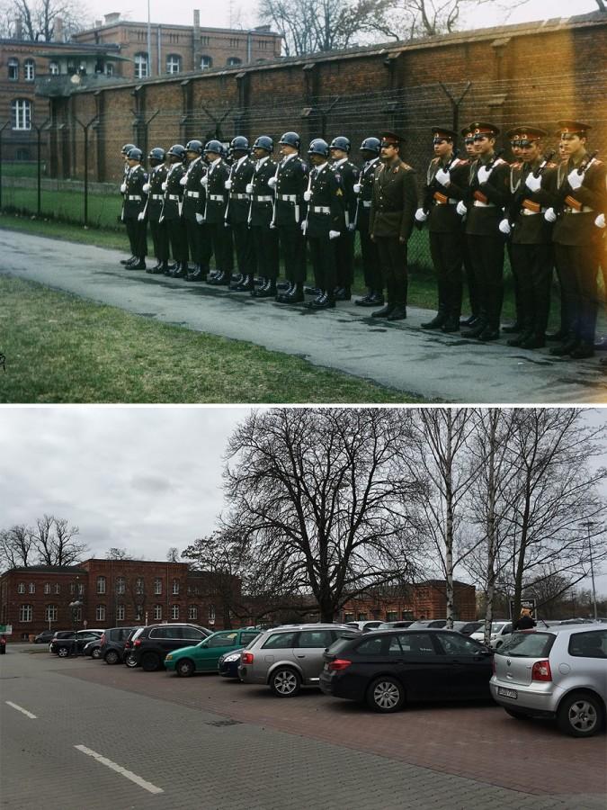 Тюрьма Шпандау сегодня. Фото через 30 лет.
