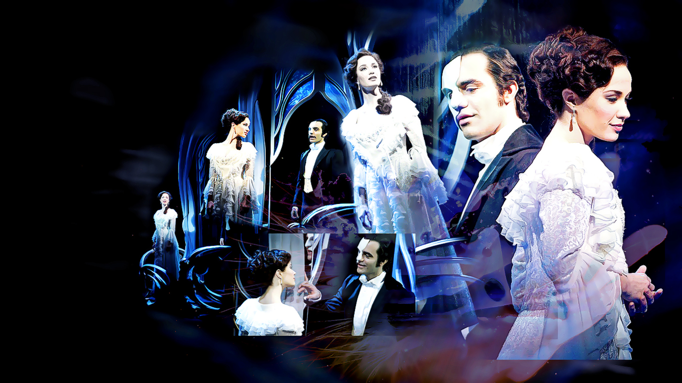 Love Never Dies Iphone Wallpaper : Love never dies on Pinterest Ramin Karimloo, Sierra Boggess and Phantom Of The Opera