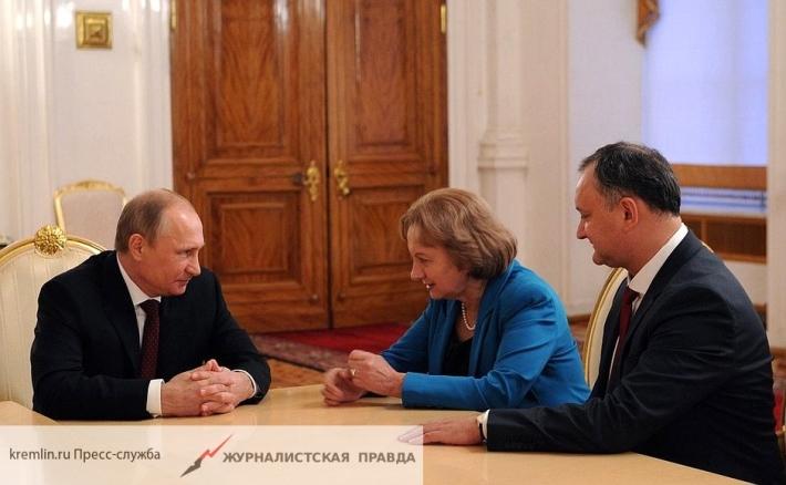 Президент РФ обсудит с главой Молдавии сотрудничество в сфере торговли и культуры