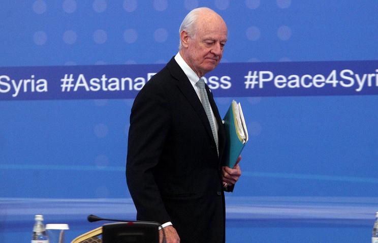 ООН не пригласил оппозицию обсуждать сирийский конфликт