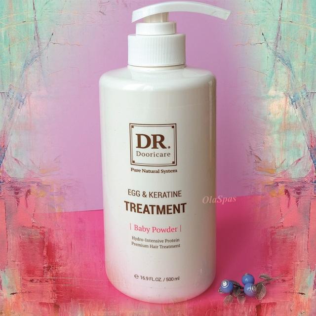Яично-кератиновое лечение волос Dr. Egg & Keratine Treatment Doori Cosmetics