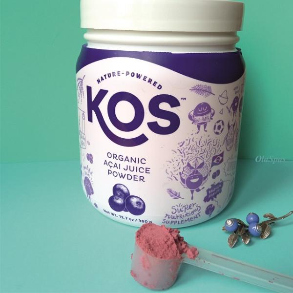 KOS, Organic Acai Juice Powder