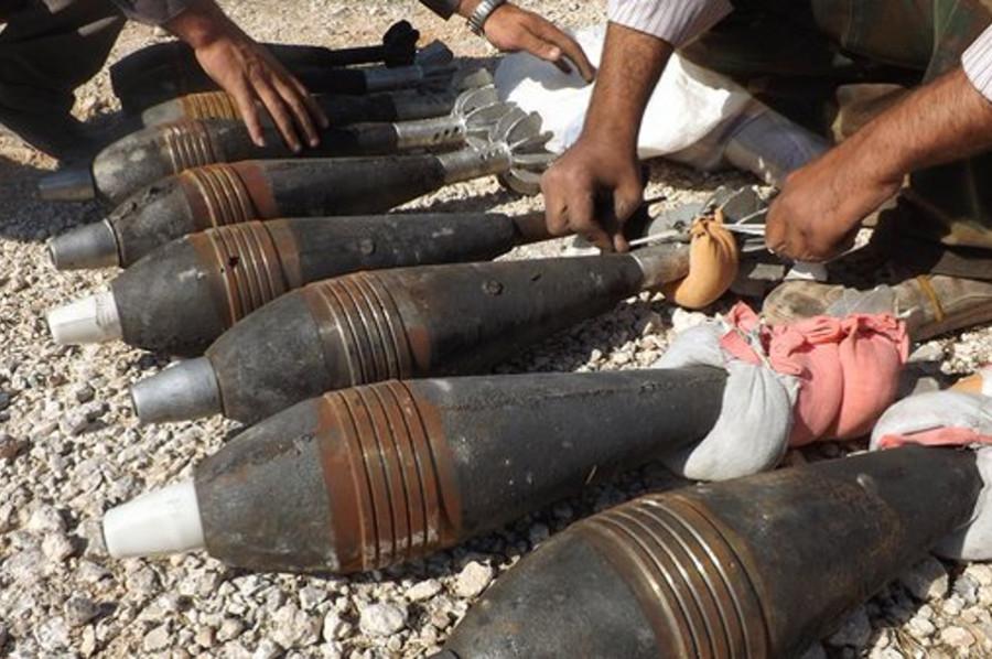 Сирия вновь под огнем химических боеприпасов