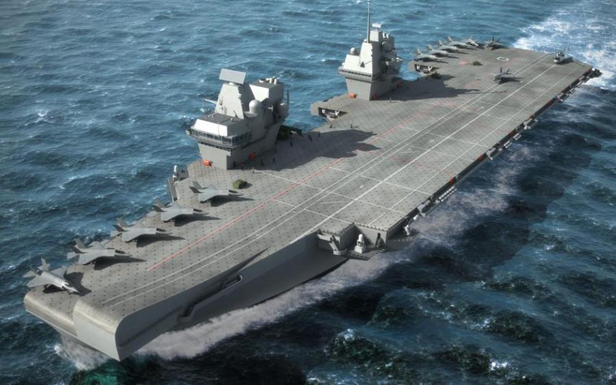Гордость ВМФ Великобритании устарела, не успев проплыть и сотни миль