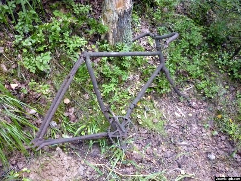 Велосипед со звездой