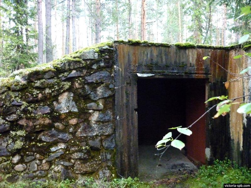 Финская батарея Каарнайоки.