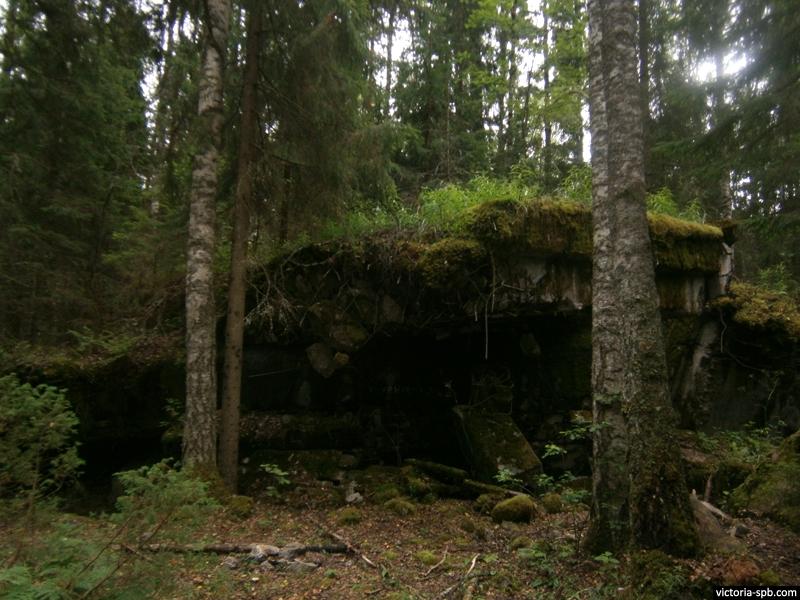 ДОТ Su 1 (Sn 1). Укрепрайон Суурниеми (Suurniemi). Линия Маннергейма.