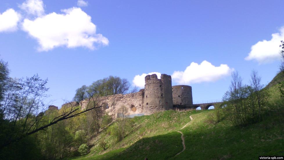 Копорская крепость (крепость Копорье). с. Копорье