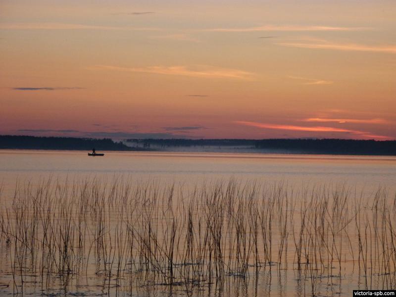 Глубокое озеро (фин. Muolaanjärvi). Лейпясуо.