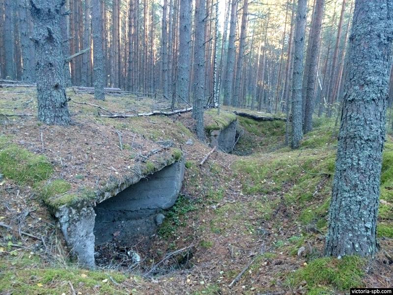 Советское послевоенное сооружение. Громово.