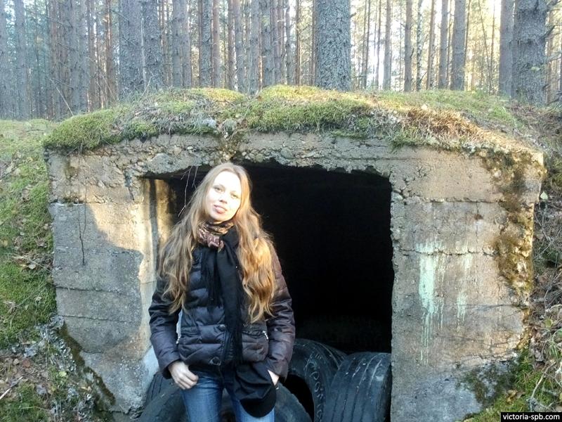 Виктория Бурлакова. Советское послевоенное сооружение. Громово.