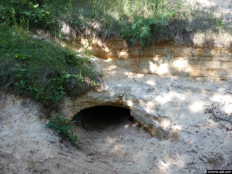 Саблинские пещеры.