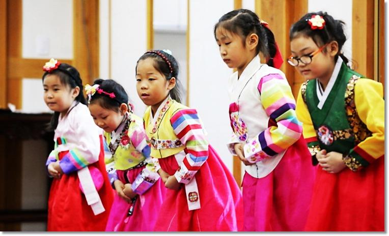 Традиционный наряд Чхусокбим