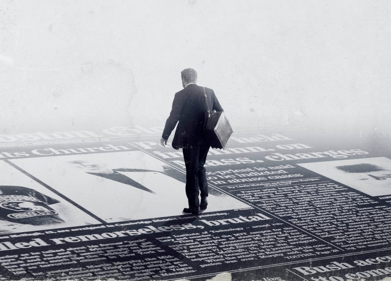 Постер к фильму «В центре внимания»
