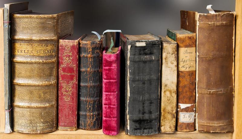 Старые книги. Источник pixabay.com
