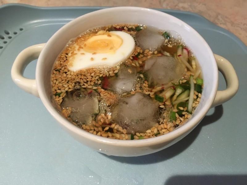 Готовый суп Ои ненгук