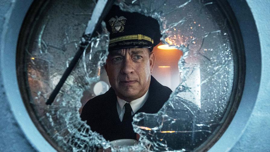 Кадр из фильма «Грейхаунд» (2020)