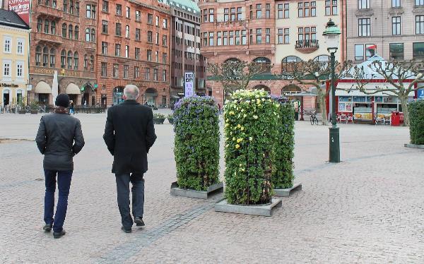 Площадь в центре Копенгагена