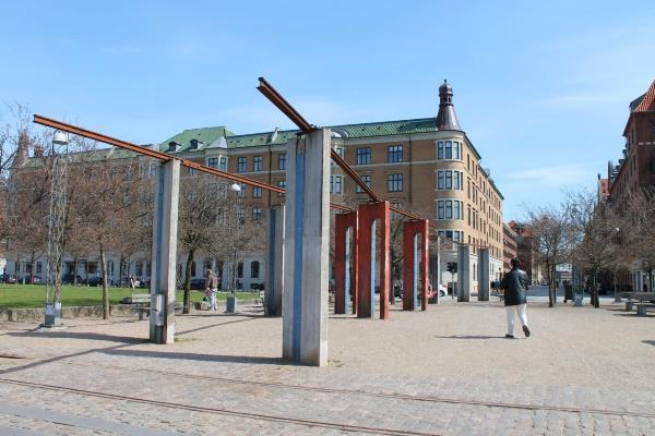 Общественное пространство на набережной