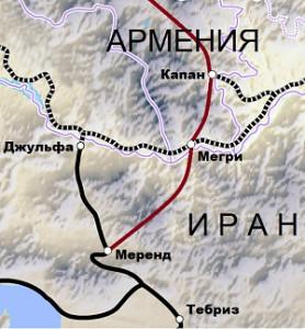 Iran-Arm_map_railway_1