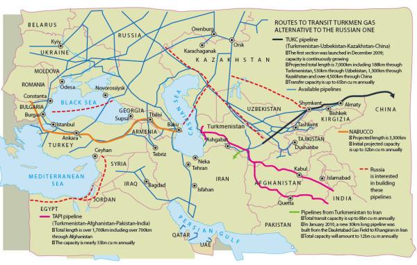 Turkmenistan_Pipelines