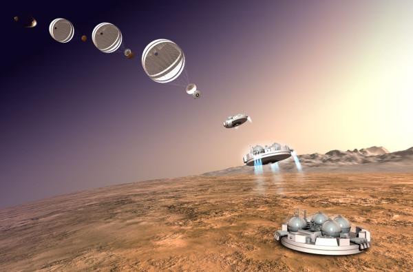 Диверсия на Марсе. Schiaparelli