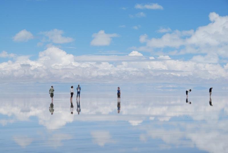 Солончак Уюни. Боливия.