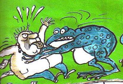 spetsialny: Жаба душит бюрократа, или