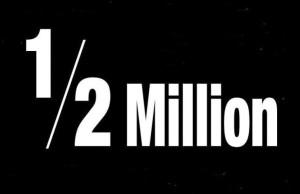 half-million