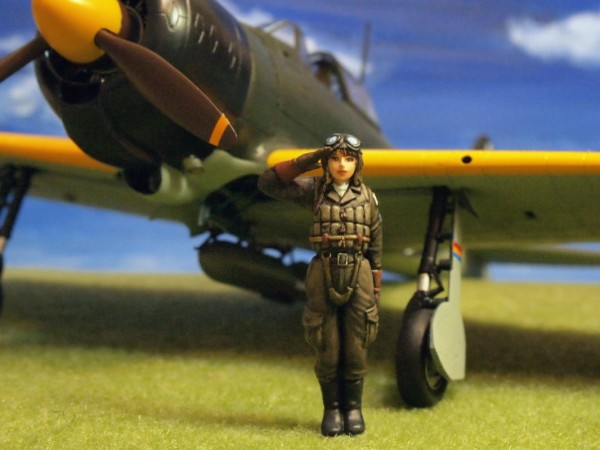 aurora lady fighter pilot ml060 (4)