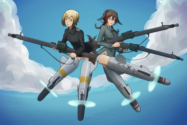 anime-Strike-Witches-Inumimi-animal-ears-179685