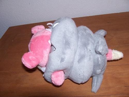 mega slowbro plush back