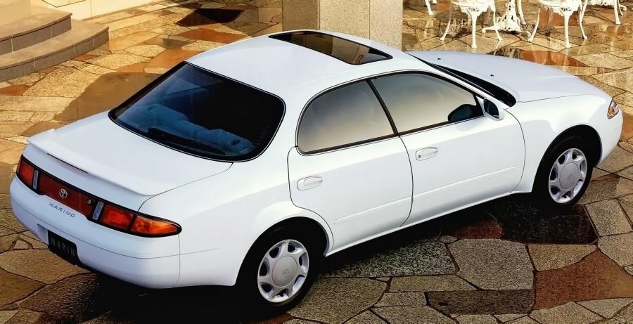 1992_Toyota_Sprinter_Marino_(AE100)_rear-top