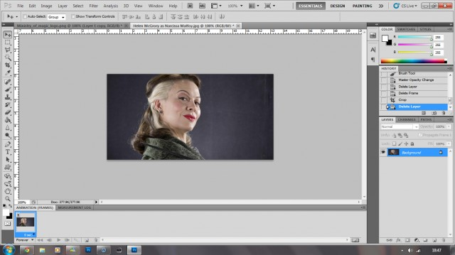 how to make a gif banner in photoshop cs5
