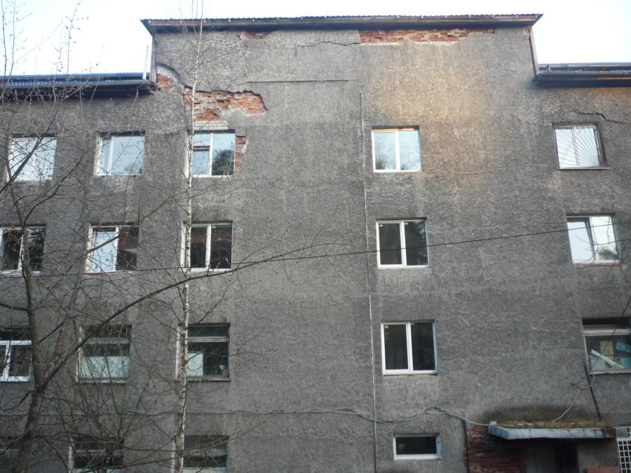 денег на ремонт мэрии хватило только на фасад