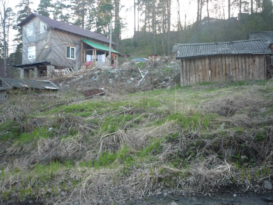 дом новый можно засерать скалу