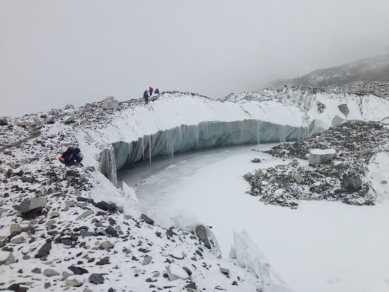 40 - на леднике кхумбу - фото димы