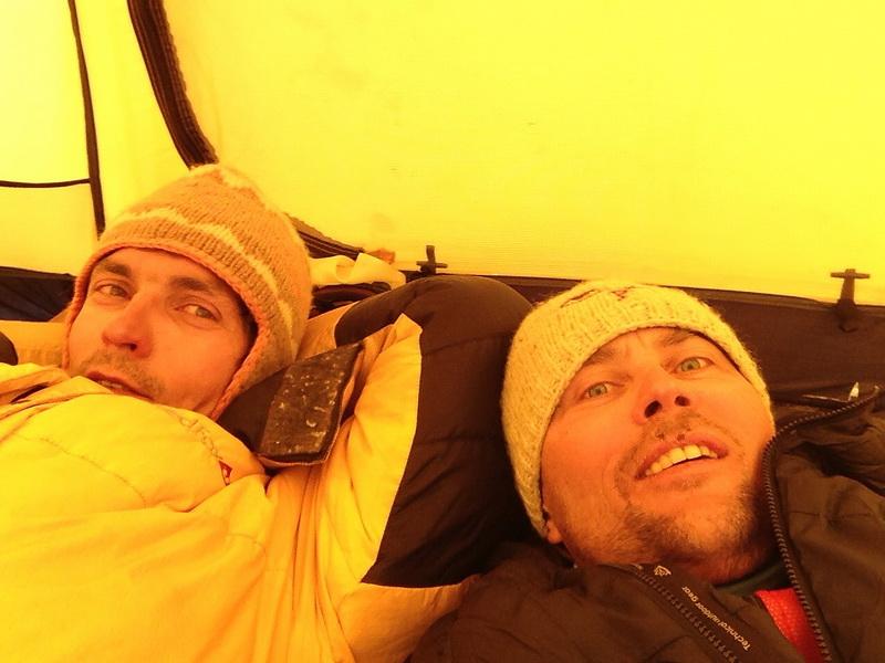 45 - в палатке