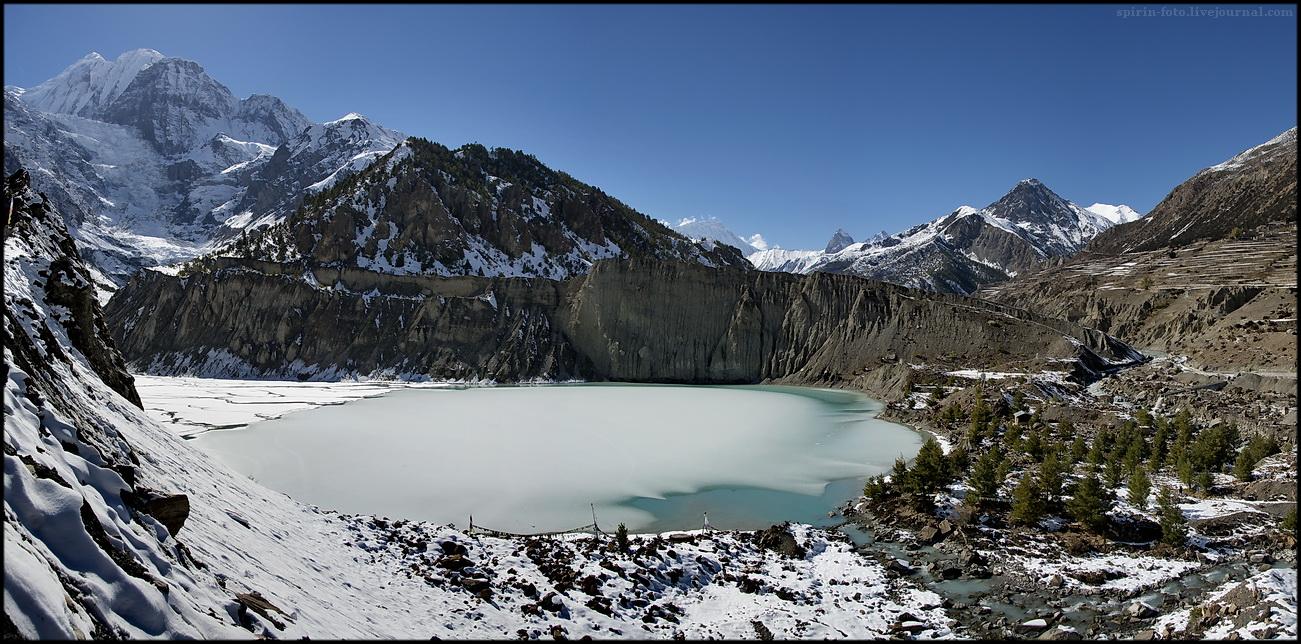 панорама 18 озеро сжат 1300