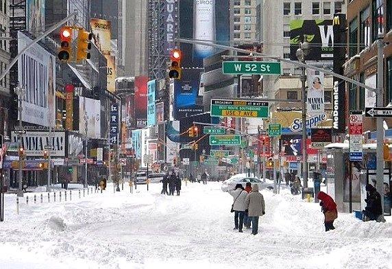 погода в мире в январе