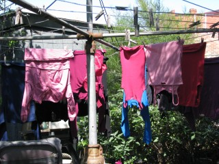 Saturday Is Washing Day.