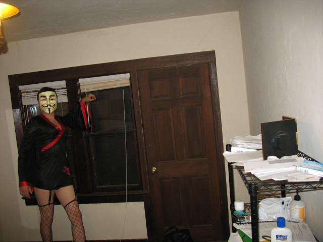 Halloween 2007 - V for Voluptuous