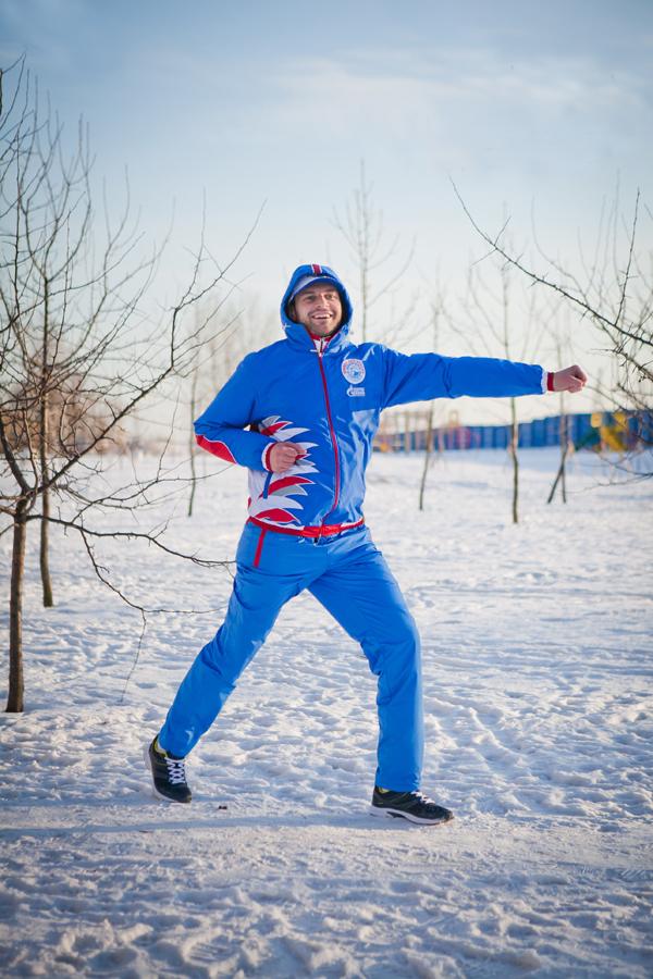 Спортивный костюм утепленный на заказ