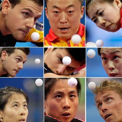 Настольный теннис на Олимпиаде в Пекине