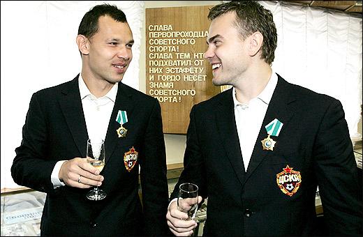 Сергей Игнашевич и Игорь Акинфеев