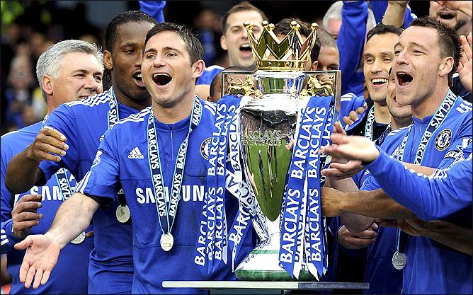 Челси – чемпион англии сезона 2009 10